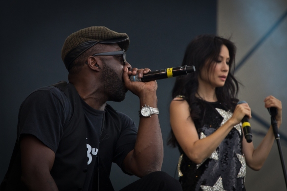 Idris Elba, Lucy Lui, The Bullitts, Big Chill, Festival, 2011, Live, Main Stage