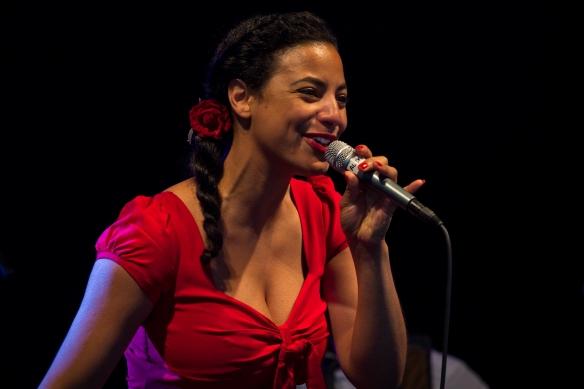 Alexia Coley, Live, Big Chill, Festival, 2011