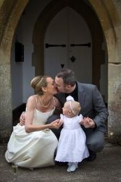 Keir, Jo and Baby Eva | Creeting House