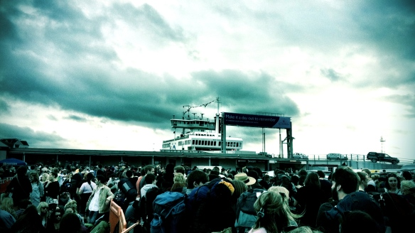 Ferry, Southamption, Bestival, 2011, Festival, isle of wight