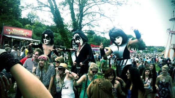 Kiss Costumes, Bestival 2011, festival, fancy dress