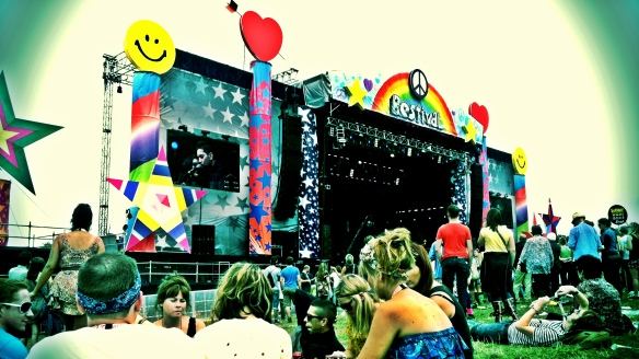 Bestival 2011 Main Stage