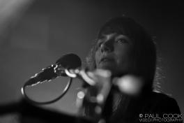 Sky Larkin's Katie Harkin on keyboard for Wild Beasts