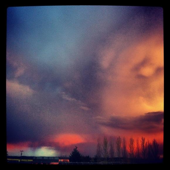 Moody sky #Instagram