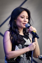 Lucy Liu @ The Big Chill, 2011