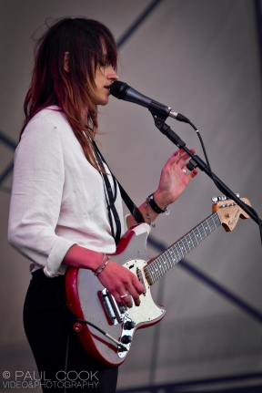 Warpaint @ The Big Chill, 2011